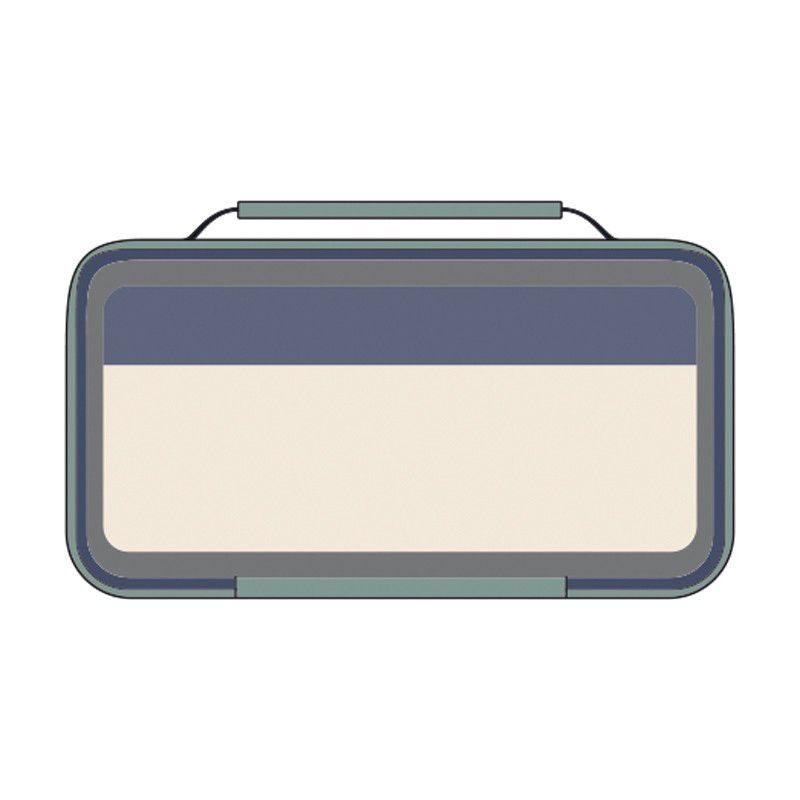 Bolsa isotérmica porta alimentos pequeña con 1 recipiente Melt verde (1, 5l)