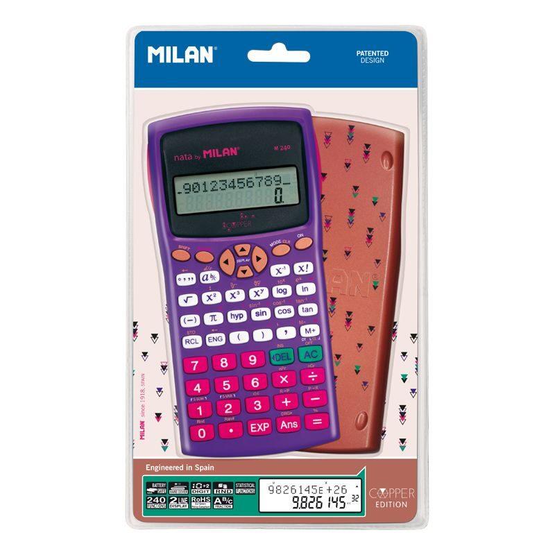 Blíster calculadora científica M240 Copper