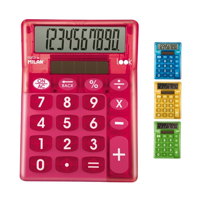 *Calculadora Look 10 dígitos