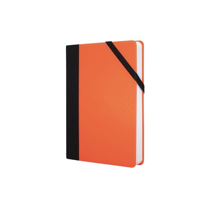 Paperbook pequeña Fluo naranja