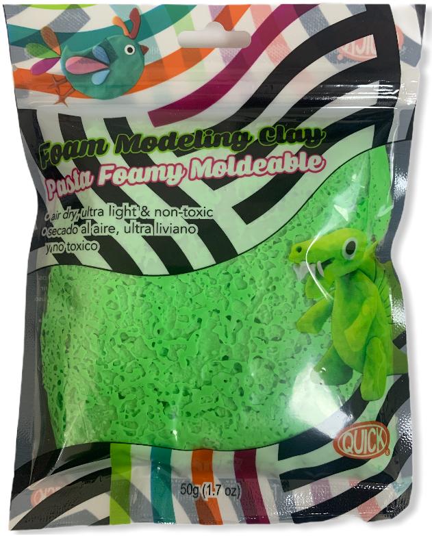 Foam moldeable verde grama