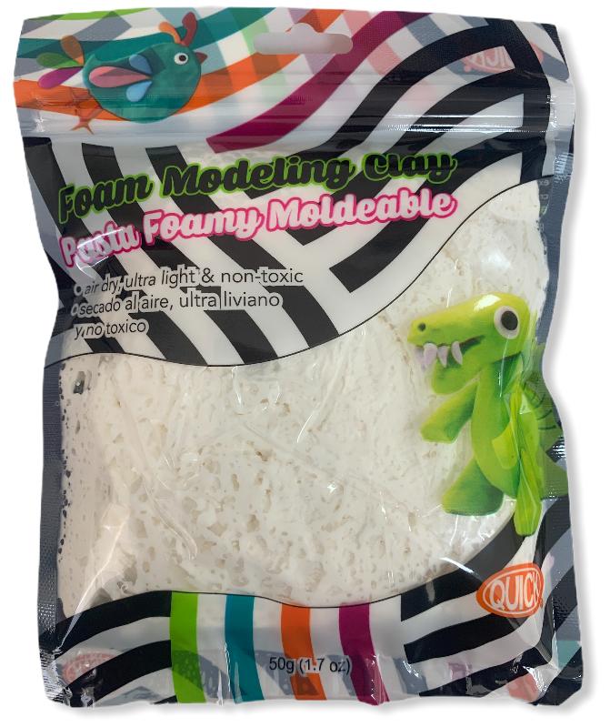 Foam moldeable blanco