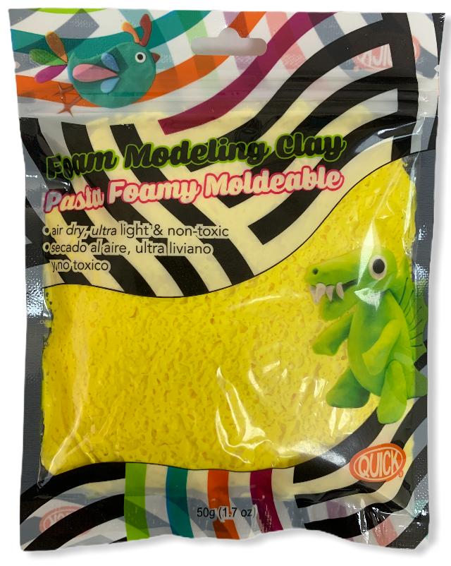 Foam moldeable amarillo