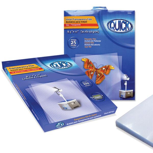 Acetato transparente tamaño carta para copiadora caja 100 unidades