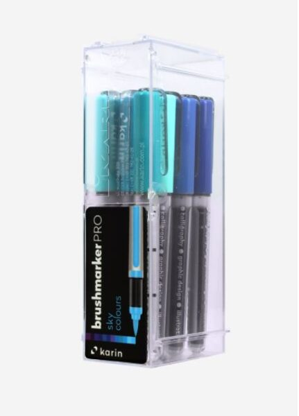 Brush Marker PRO 12 pcs Sky colores